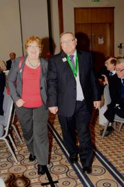 DG Elect Lion Roger Munday with Lion Christine Munday